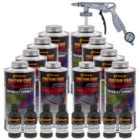 34052 USMC Dark Olive Drab T71 - Custom Coat Urethane Spray-On Truck Bed Liner, 1.75 Gals - With Applicator Spray  Gun