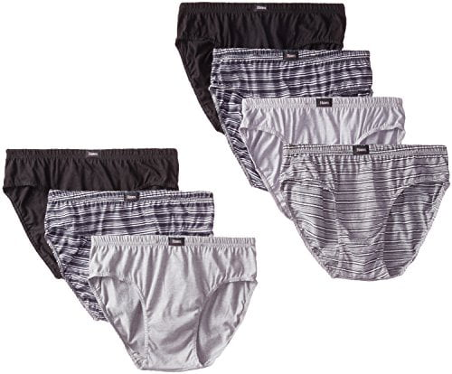 Hanes Mens 7-Pack ComfortSoft Briefs string