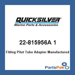 Mercury - Mercruiser 22-815956A 1 Mercury Quicksilver 22-815956A 1 Fitting Pitot Tube Adaptor-