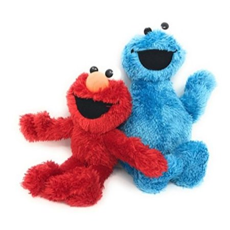 Sesame Street Small Plush Pal - Elmo And Cookie Monster - Elmo And Cookie Monster Costume