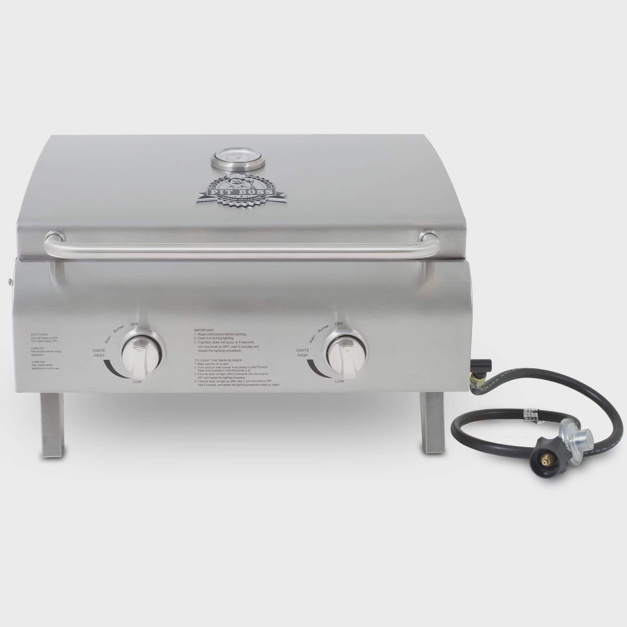 Pitt Boss Grills 2-burner portable gas grill