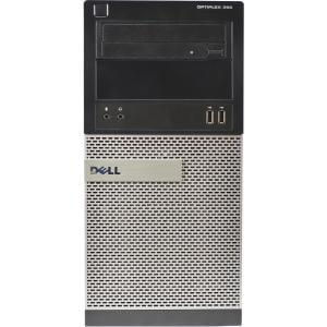 Refurbished DELL 390-T Core i3-2120 3.3GHZ 4GB Memory 250GB Hard Drive DVDRW Windows 10 Pro Dell 250gb Hard Drive