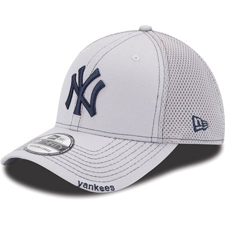 New Era New York Yankees Gray Neo 39THIRTY Stretch Fit Hat