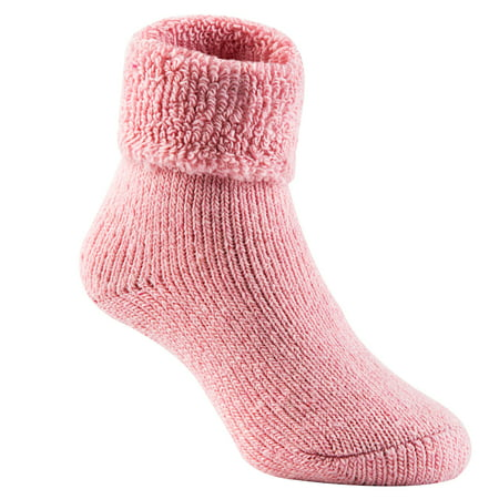 Lian LifeStyle Women's 3 Pairs Extra Thick Wool Boot Socks Crew Plain Size 6-10 LK1602