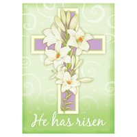Toland Home Garden Easter Cross Double Sided Flag