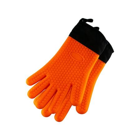 Blackstone Griddle Silicone Gloves (Orange)