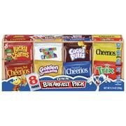 Breakfast Pack Cereal Multi-Pack With 8 Varieties, 9.14 oz