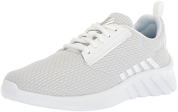 K-SWISS AERONAUT, Color: White/White, Size: 8.5 (95618-101-M-8.5)