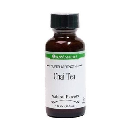 - Chai Tea Flavor Natural LorAnn Hard Candy Flavoring Oil 1 oz