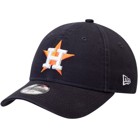 Houston Astros New Era Youth Core Classic Replica 9TWENTY Adjustable Hat - Navy - OSFA