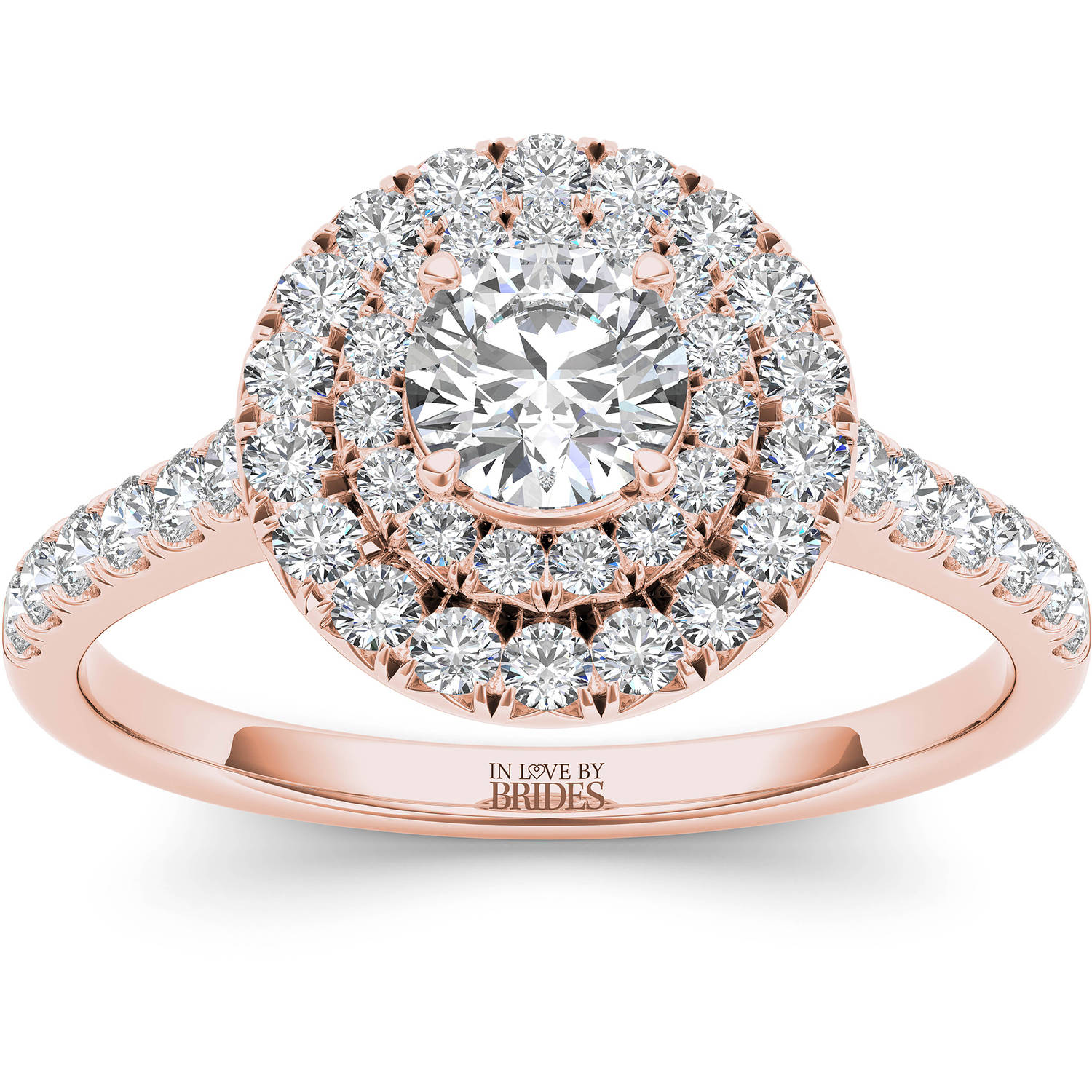 In Love By Brides 1.00ct Tw Diamond Roun