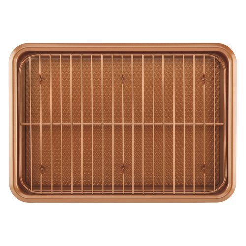 Ayesha Curry Bakeware Cookie Pan Set, Copper, 2-Piece by Meyer Corporation