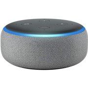 Amazon Echo Dot (3rd Generation) Smart Speaker - Wireless Speaker(s) - Heather Gray - Wireless LAN - Bluetooth - Microphone, Wireless Audio Stream, Wireless Pairing, Hands-free, Voice Command, Spotify