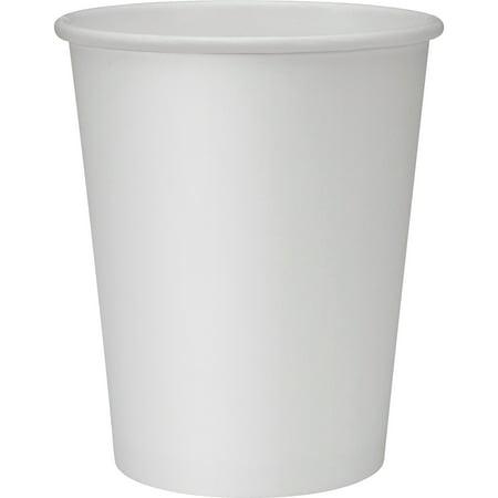 Unicup 12oz Plain White PE Hot Paper Cup(1000 cups/case)
