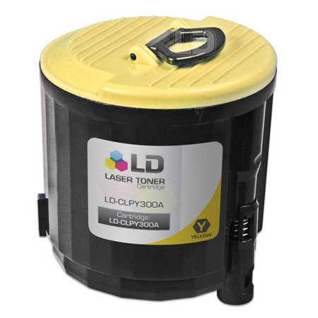 LD Compatible Replacement CLP-Y300A Yellow Laser Toner Cartridge for use in Samsung CLP-300, CLP-300N, CLX-2160, &