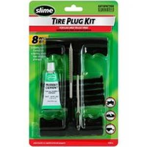 Slime 1034-A Tire Plug Kit, 8 Pieces, 9 in L