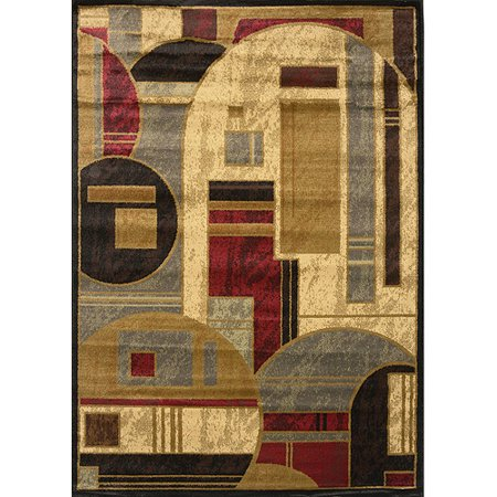 home dynamix royalty collection 8101 450 black area rug. Black Bedroom Furniture Sets. Home Design Ideas