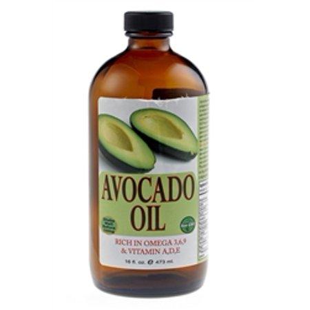 - Pure Cold Pressed Avocado Oil 16 oz. GLASS
