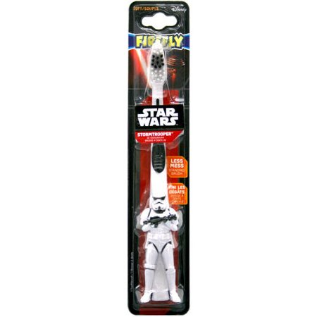 Firefly Star Wars Stormtrooper 3D Toothbrush, Soft for $<!---->
