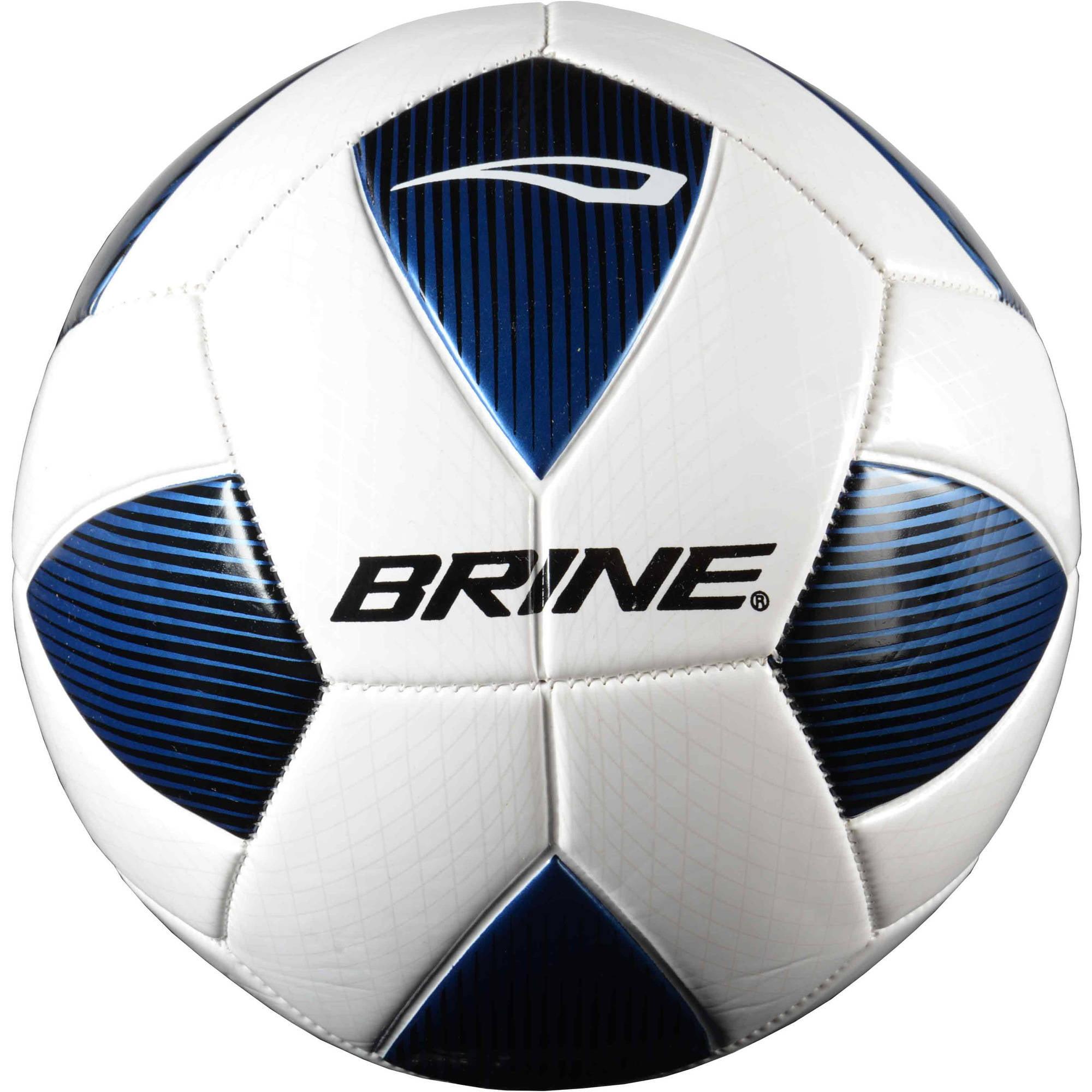 Brine Arrowhead Soccer Ball, Blue, Size 5