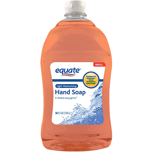 Equate Light Moisturizing Liquid Hand Soap Refill, 56 fl oz