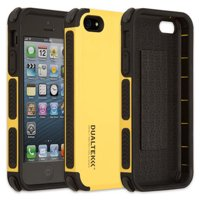 PUREGEAR YELLOW DUALTEK EXTREME RUGGED CASE COVER FOR APPLE iPHONE SE 5 5s 5c