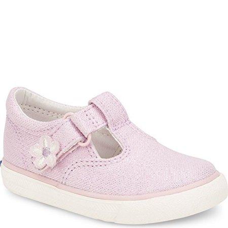 keds daphne t-strap sneaker (toddler/little kid), pink 650, 9 m us toddler