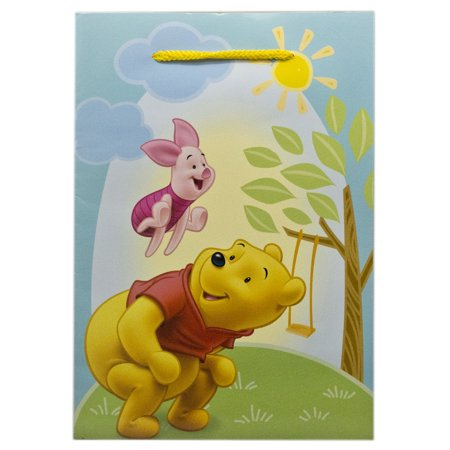 Disney's Winnie the Pooh Piglet and Pooh Leapfrog Small Gift (Frog Gift Bags)