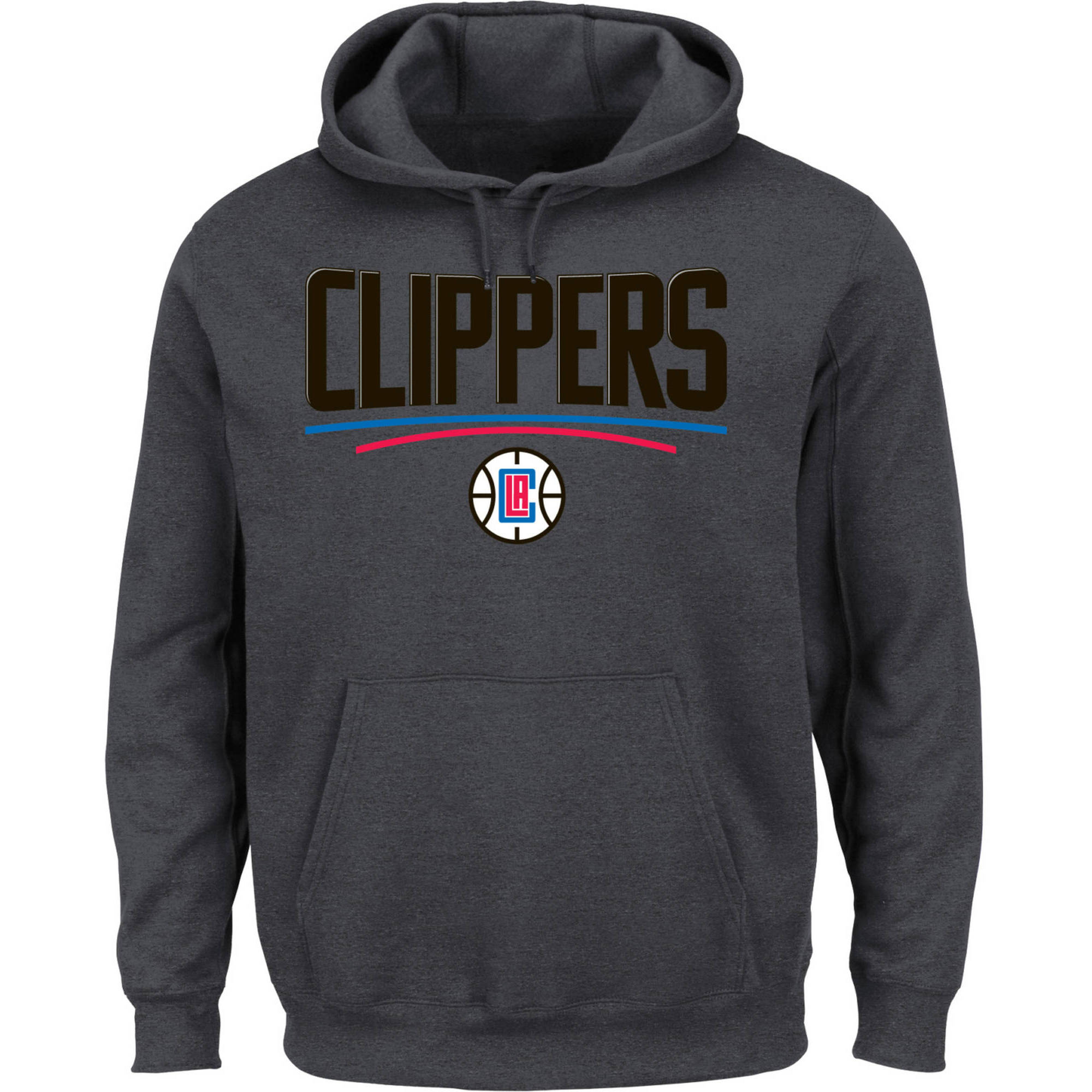 NBA Los Angeles Clippers Big Men's Hooded Fleece Sweatshirt, 2XL