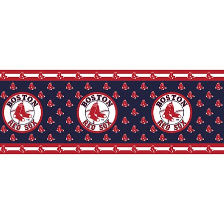 Major League Baseball Boston Red Sox Wall Border