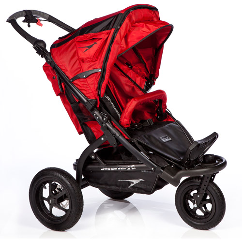 Trends for Kids Joggster X 2 Twist Jogging Stroller, Red