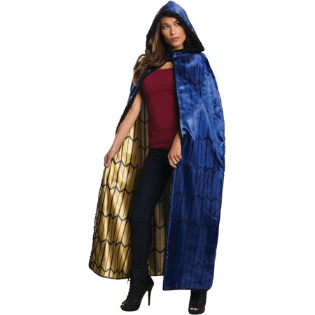 Womens Deluxe Justice League Woman Cape Costume Accessory