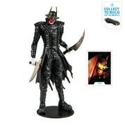 "McFarlane Toys DC Multiverse (3 Of 3) Collector Edition Build-a-batmobile The Batman Who Laughs Deluxe 7"" Figure"