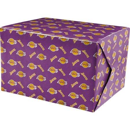 Lakers Wrapping Paper Los Angeles Lakers Wrapping Paper
