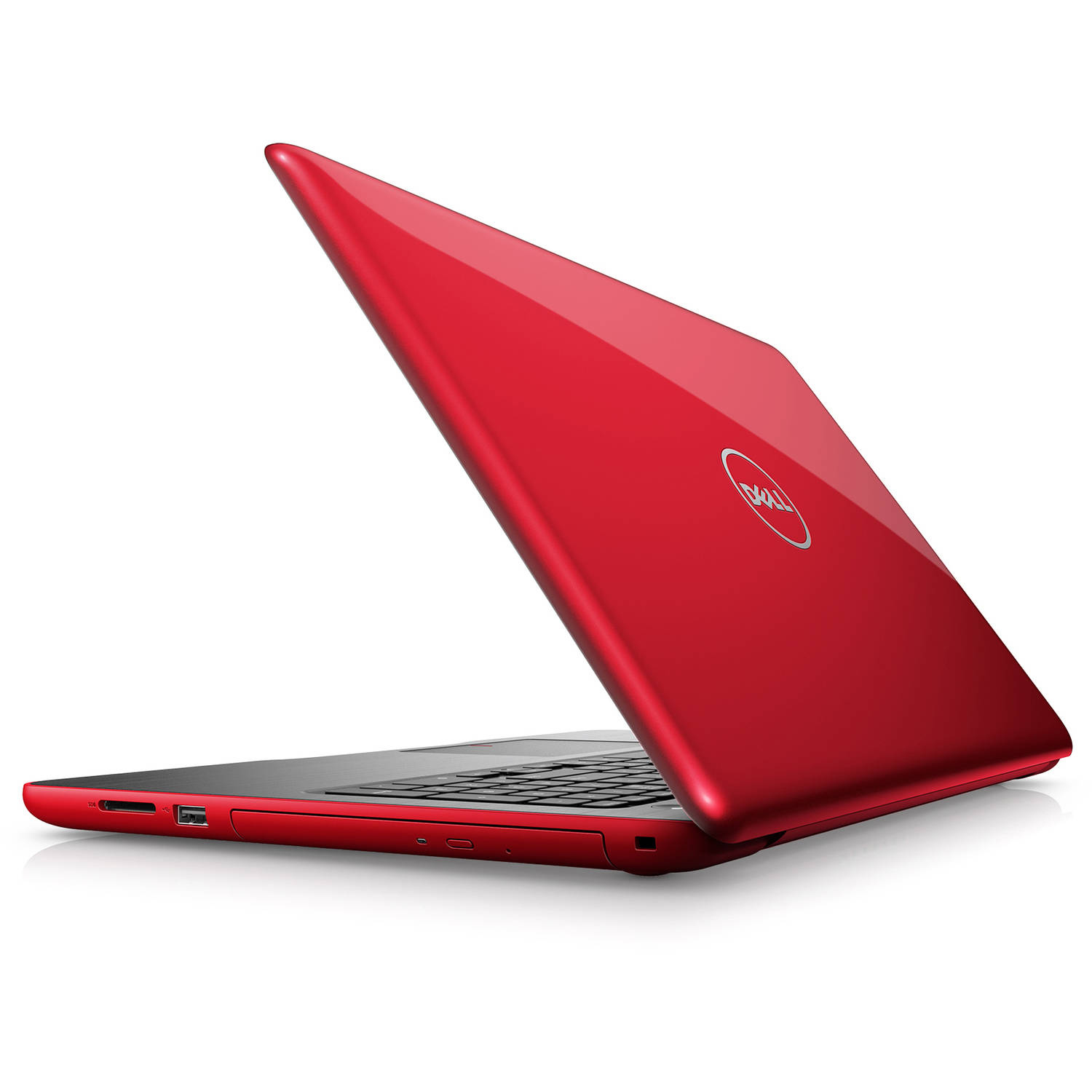 "Dell - Inspiron 15.6"" Laptop - AMD A9-- 8GB - AMD Radeon R5 Graphics - 1TB HD - Red"