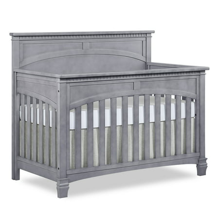 Evolur Santa Fe 5-in-1 Convertible Crib, Storm Grey ()