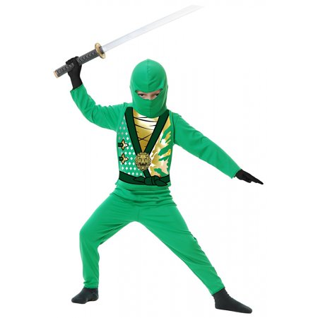 Ninja Avengers Series 4 Child Costume Green - Toddler](Black Ninja Costume)