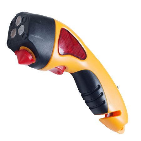 Auto Emergency Escape Hammer Safety Tool with Flashlight by