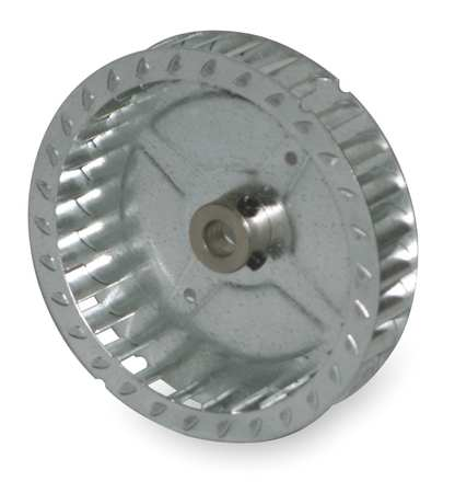 Direct Drive, Single Inlet Forward Curve Blower Wheel, Revcor, B800-400HS L