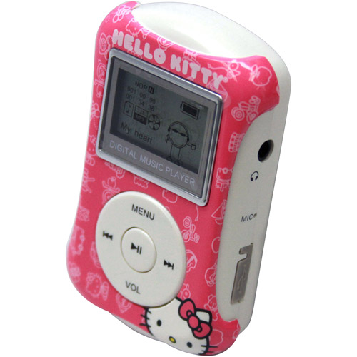 Hello Kitty MP3 Player - CASE OF 6