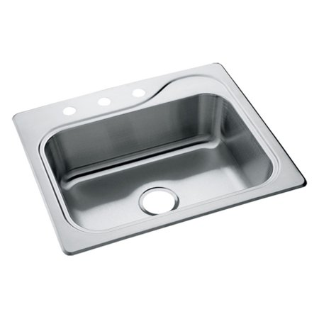 Sterling by Kohler Southhaven® 1140X-3 Single Basin Drop In Kitchen Sink ()
