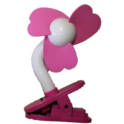 Dreambaby Stroller Fan, Silver with Black Foam by Tee-Zed Products, LLC