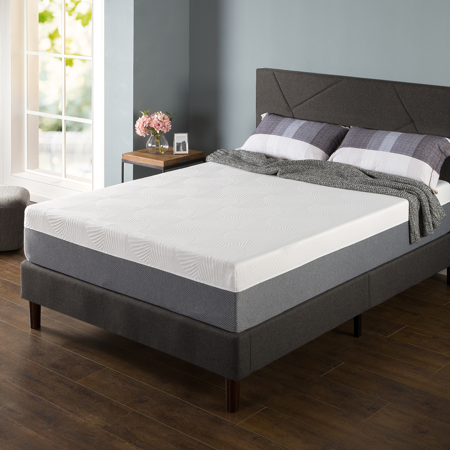 "Zinus Spa Sensations 12"" Memory Foam Full Size Mattress"