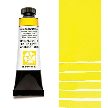 Daniel Smith Extra Fine Watercolors - Hansa Yellow Medium, 15 ml Tube