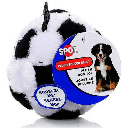 Spot Plush Soccer Ball Dog -