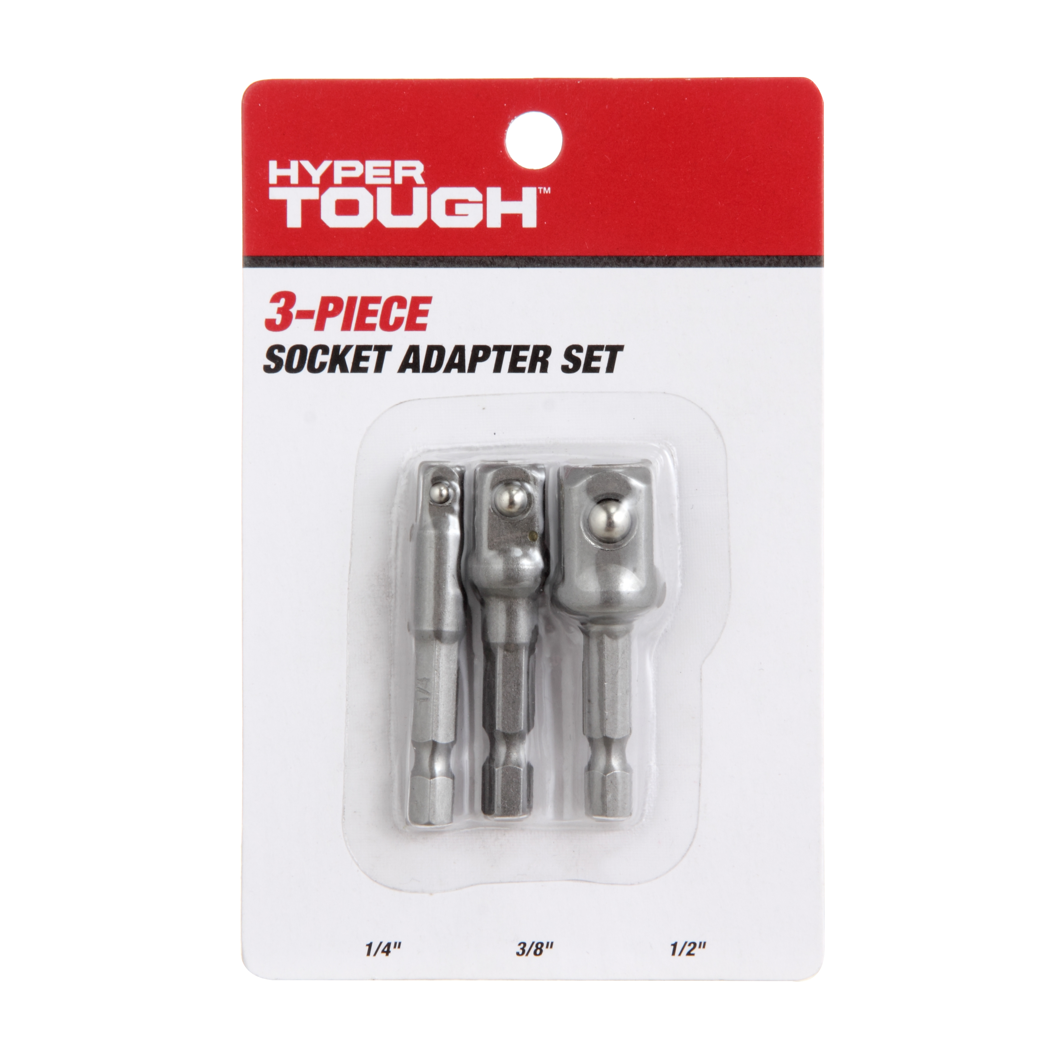HYPER TOUGH AU20070K 3 PIECE QUICK CONNECT SOCKET ADAPTER SET