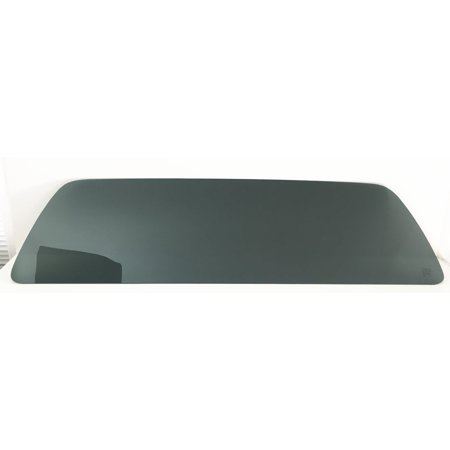 For 1999-2007 Ford F Series (F250, F350, F450, F550, F650, and F750) Pickup Stationary Back Window Glass Replacement Dark Tinted