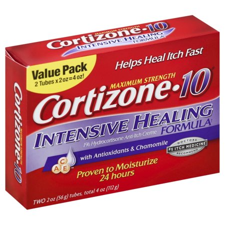 Chattem Cortizone 10  Anti-Itch Creme, 2 ea