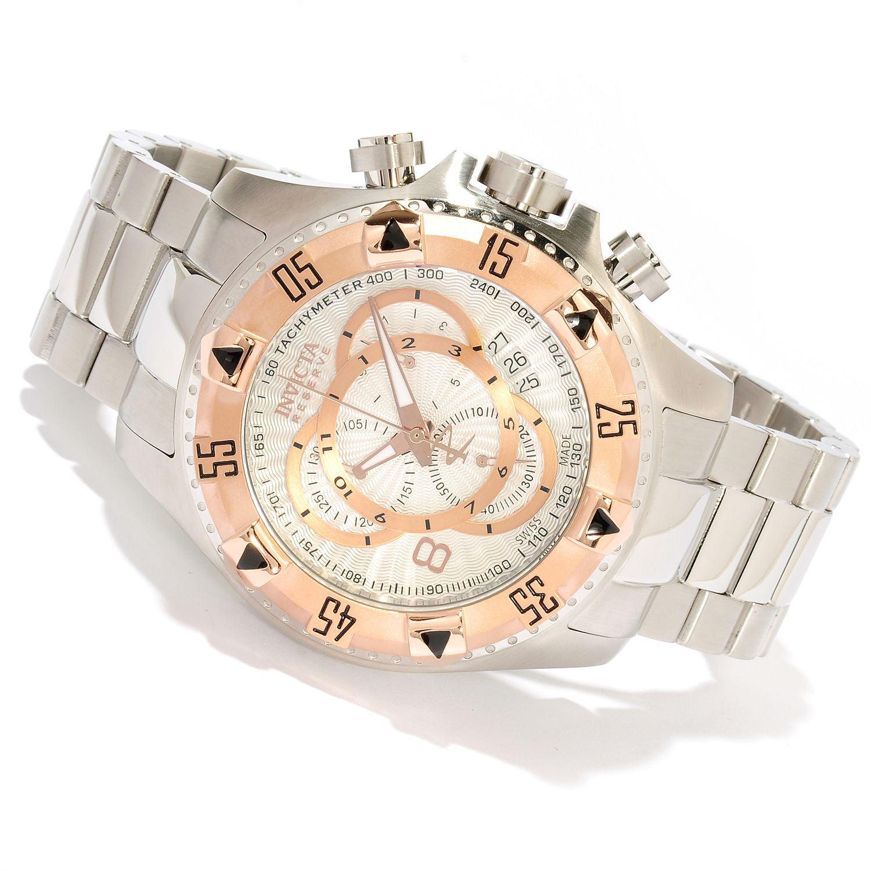 Invicta 10997 Men's Excursion Reserve Quartz Chronograph Stainless Steel Watch
