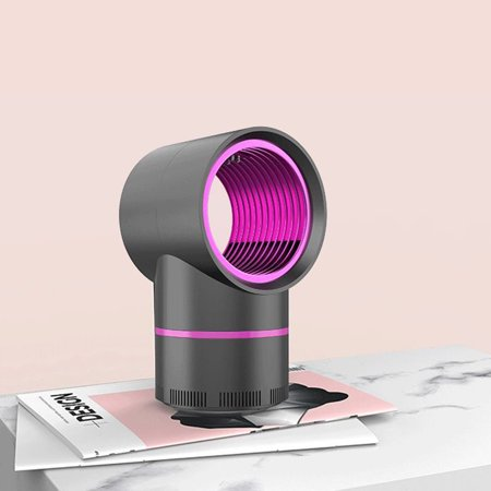 LED Electric Mosquito Killer Lamp Indoor Outdoor Trap No Noise No Radiation USB Power Supply, Suction Fan,Photocatalytic UV Light - image 2 of 7